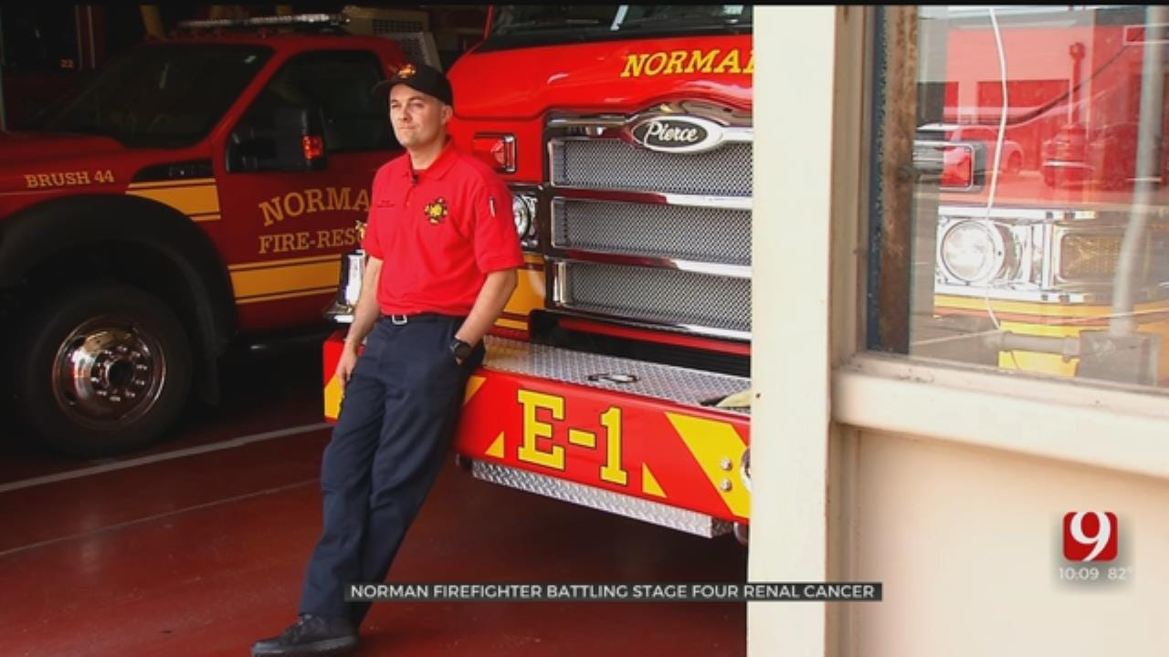 Community Rallies In Support Of Norman Firefighter Battling Stage 4 Cancer