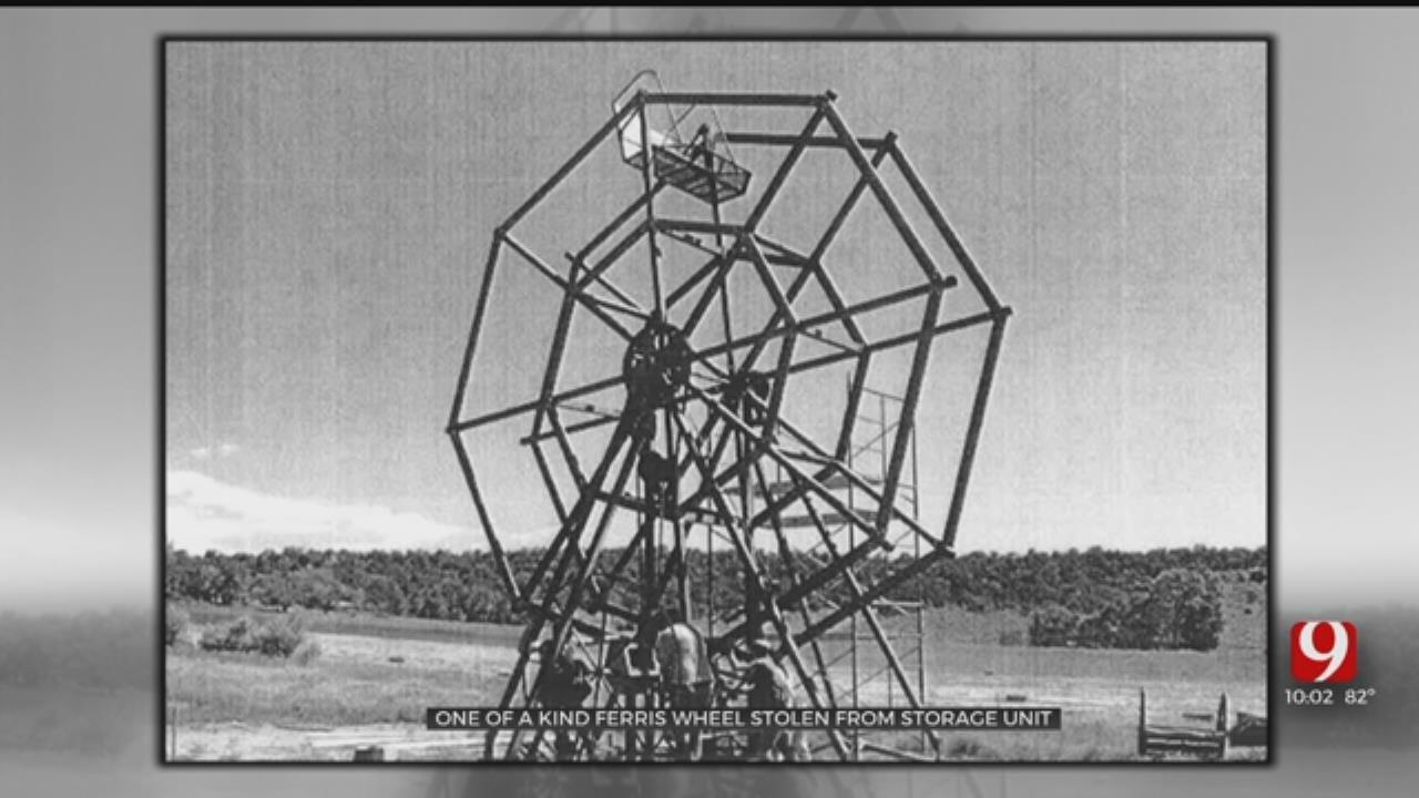 One Of A Kind Ferris Wheel Stolen From Edmond Storage Unit