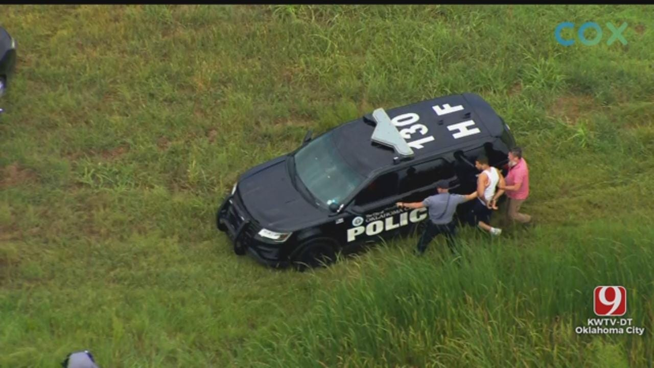 2 Detained After Police Chase In NW OKC