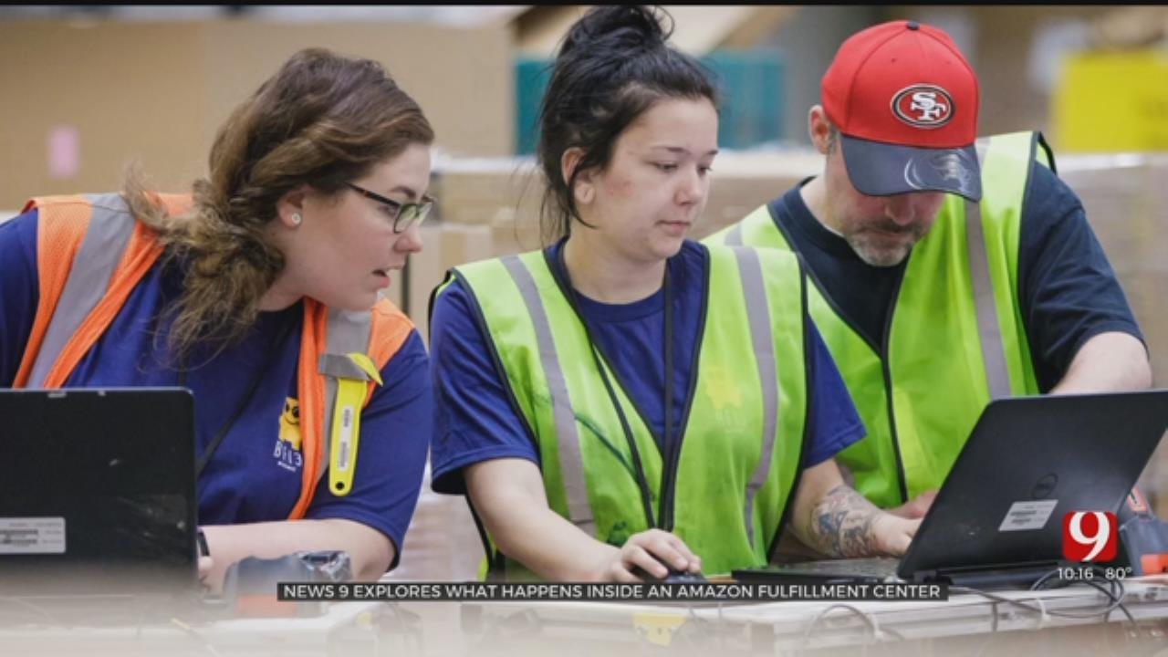 News 9 Gets A Sneak Peek Inside Amazon's Fulfillment Centers