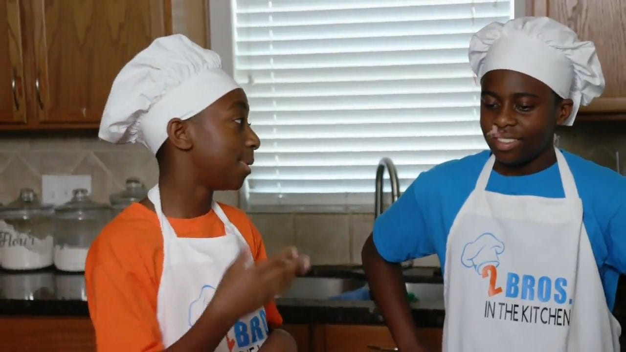 Baking Brothers Whip Up Recipes, Give Back
