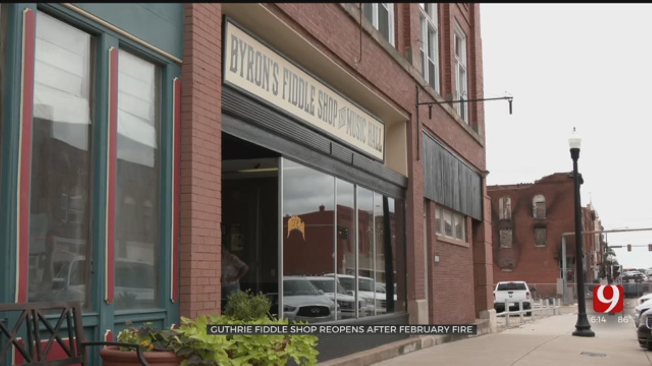 Byron Berline's New Double Stop Fiddle Shop Opens In Guthrie