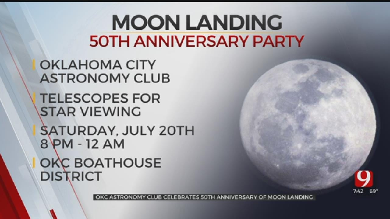 Moon Landing Anniversary Party Planned For Next Week