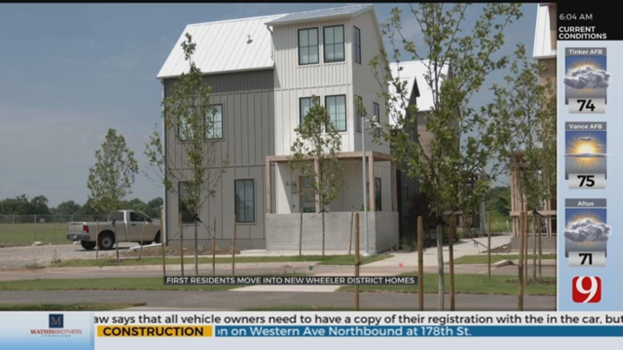 First Group Of Residents Move Into New Wheeler District Homes