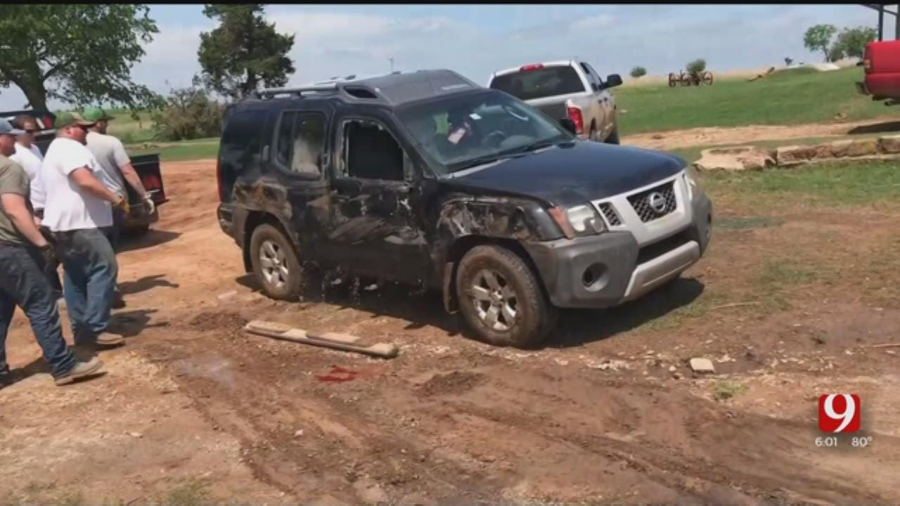 Tornado Damages Property In Noble County