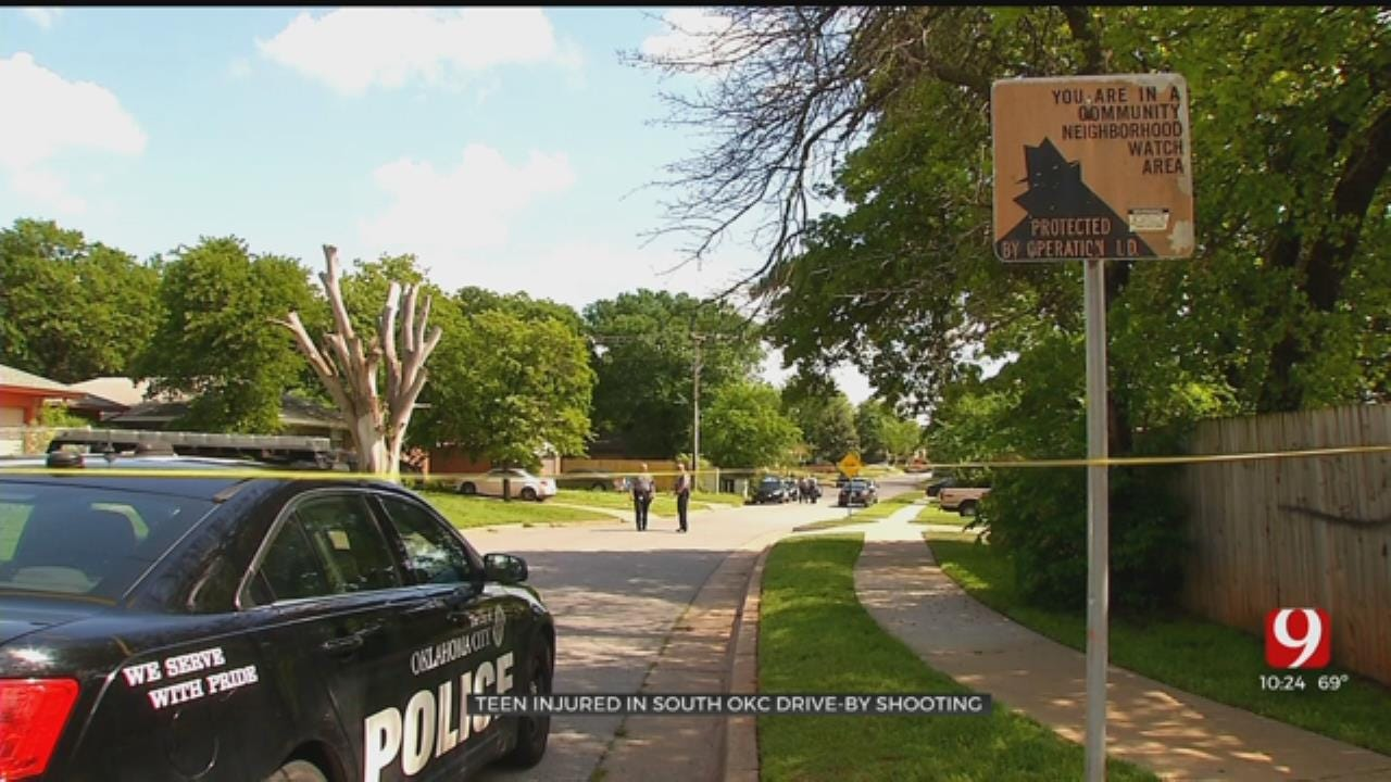 Police: 15-Year-Old Shot In Drive-By Shooting In SE OKC