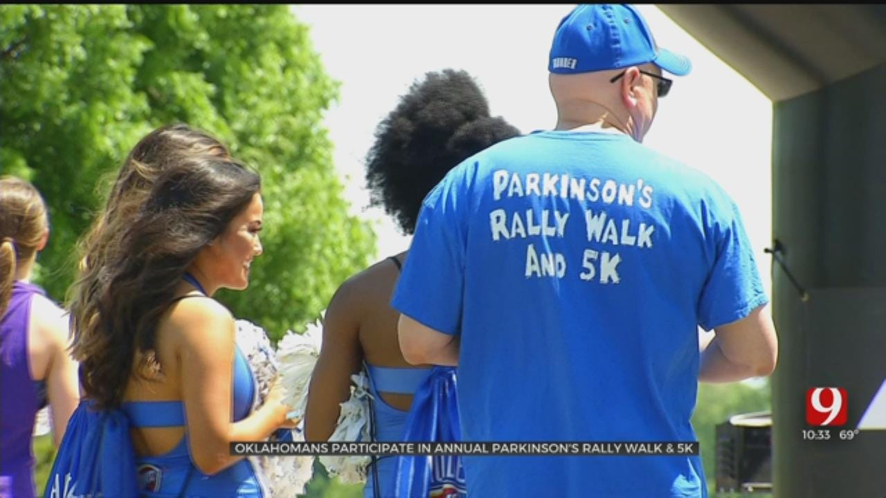 Oklahomans Participate In Annual Parkinson's Rally Walk And 5K