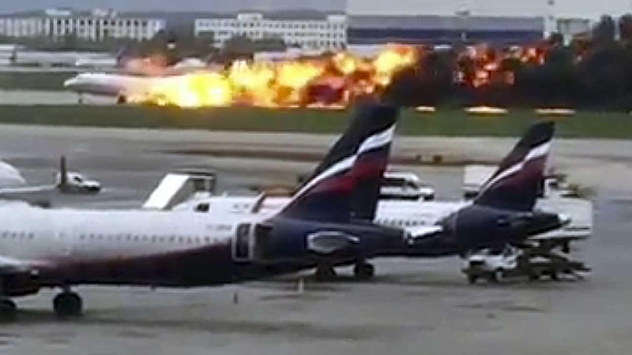 At Least 40 Dead In Russian Plane's Fiery Emergency Landing