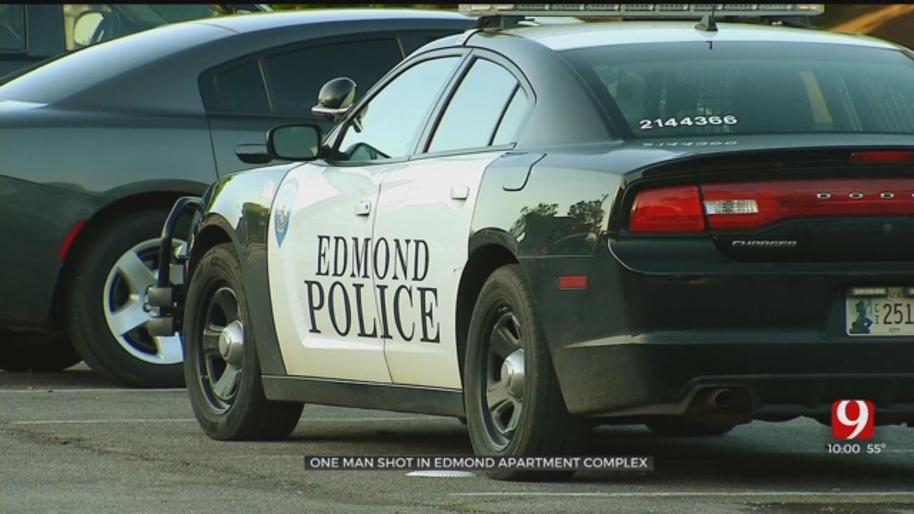 Man Injured After Shooting At Edmond Apartment Complex