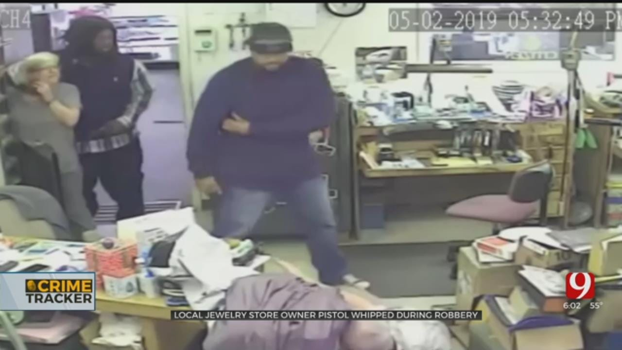 Caught On Camera: Police Searching For Suspects After Violent Jewelry Store Robbery