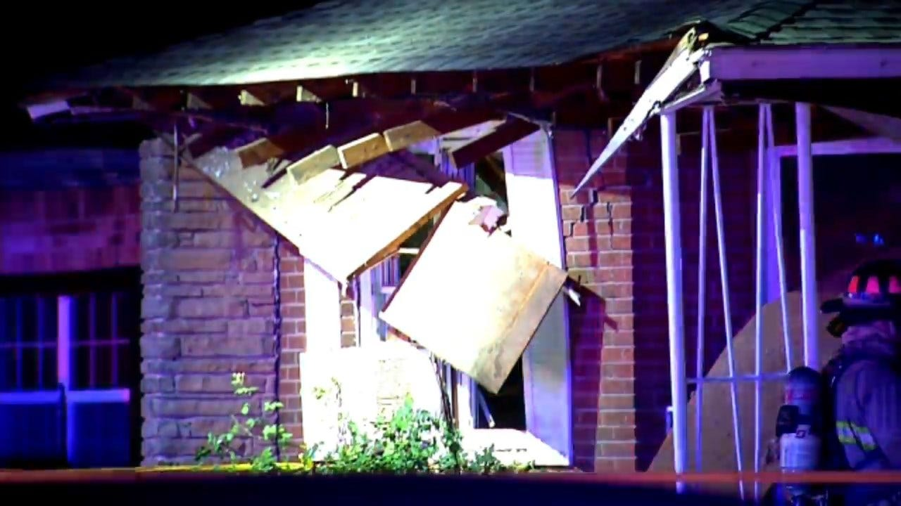 SW OKC Home Total Loss Following Explosion