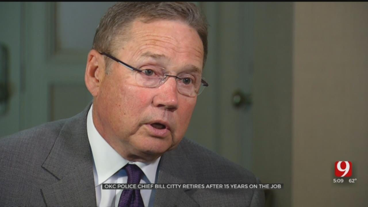One-On-One: OKC Police Chief Bill Citty Retires After 15 Years