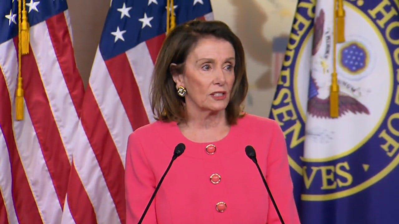 Speaker Pelosi: Barr 'Lied To Congress'