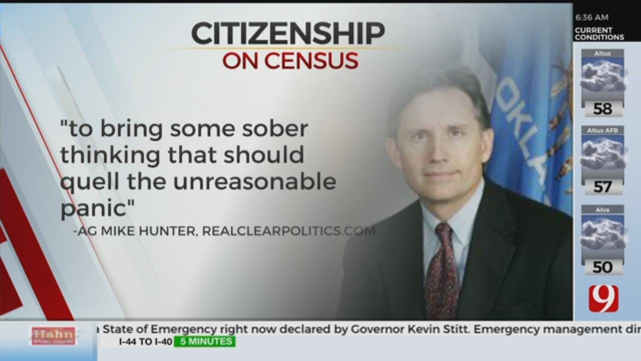 Despite Opposition, AG Hunter Doubles Down On Census Citizenship Question
