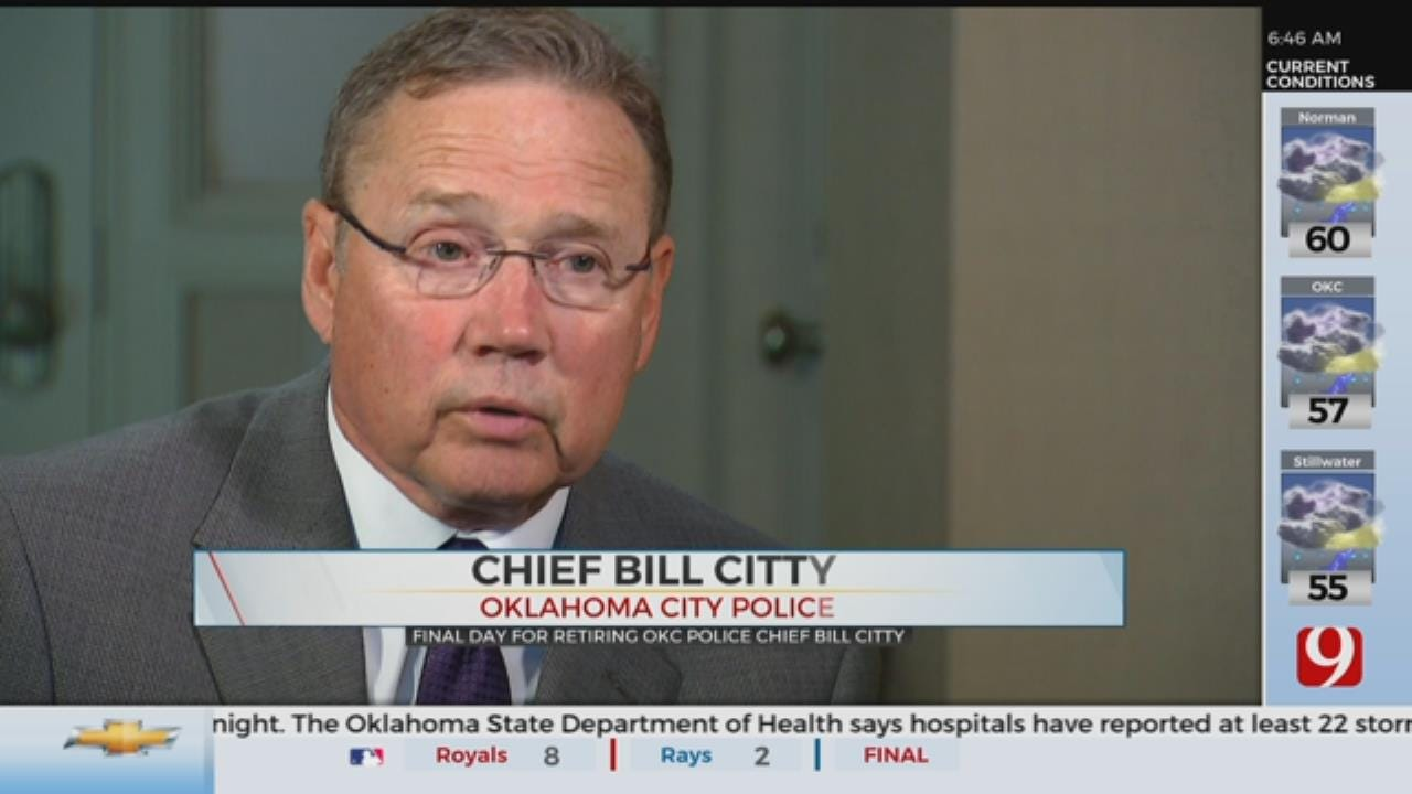 Oklahoma City Police Chief Bill Citty Officially Retires