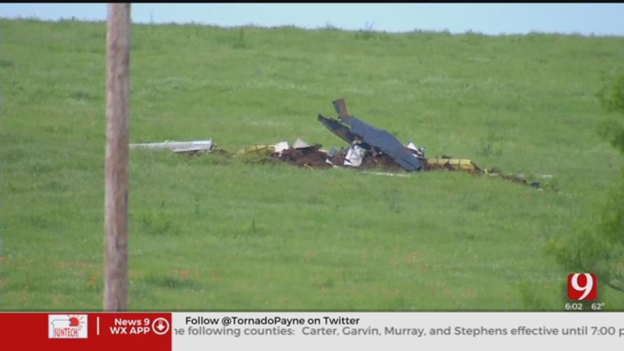 Plane From Sheppard AFB Crashes Near Lake Waurika