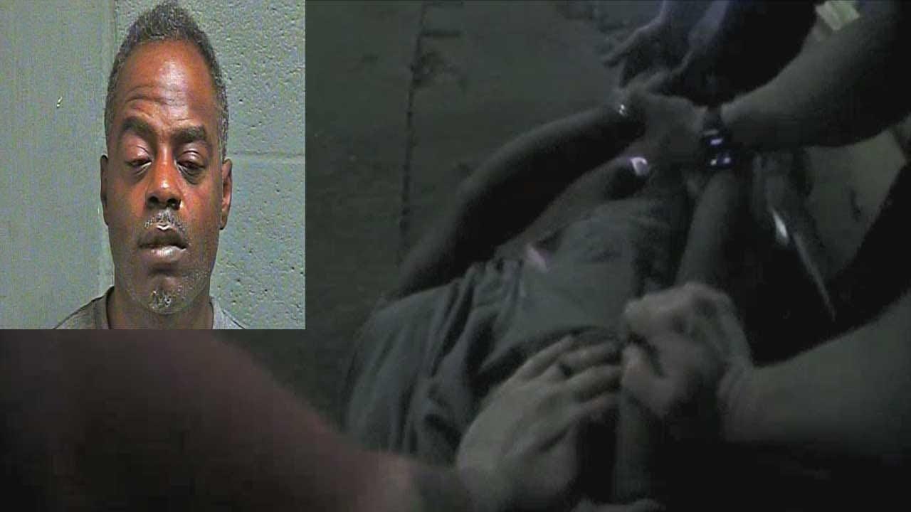 BODYCAM: Man Allegedly High On PCP Attempts To Grab OKC Officer's Gun