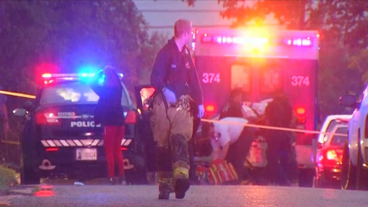 Police Investigating Following Double Shooting In NW OKC