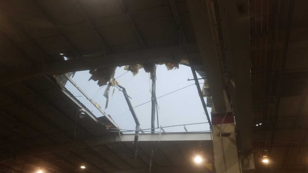 Severe Weather Storms Cause Damage In Cushing