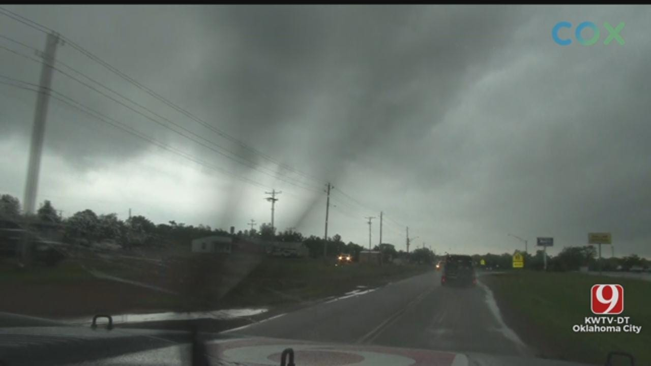 WATCH: Val & Amy Spot Lowering In Storm Near Carney