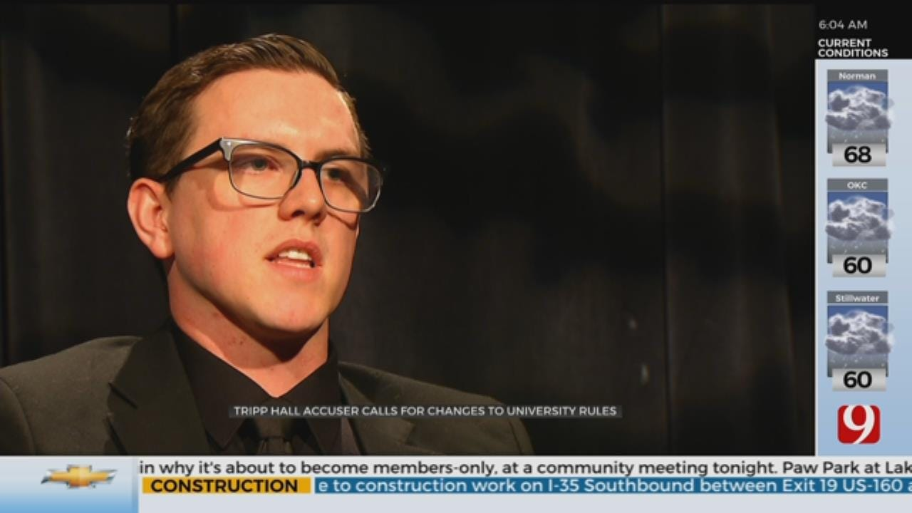 Tripp Hall Sexual Assault Accuser Recounts Alleged Victimization, Calls For Change