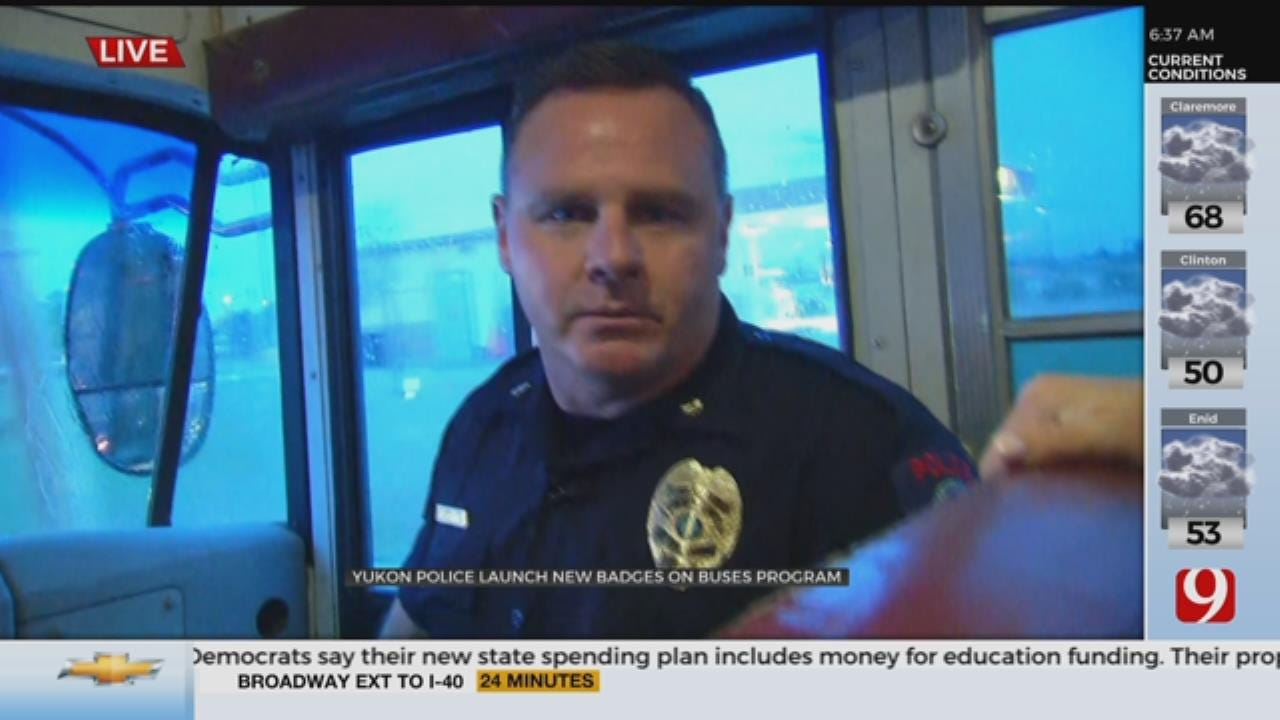 Yukon Police Launch New Badges On Buses Program