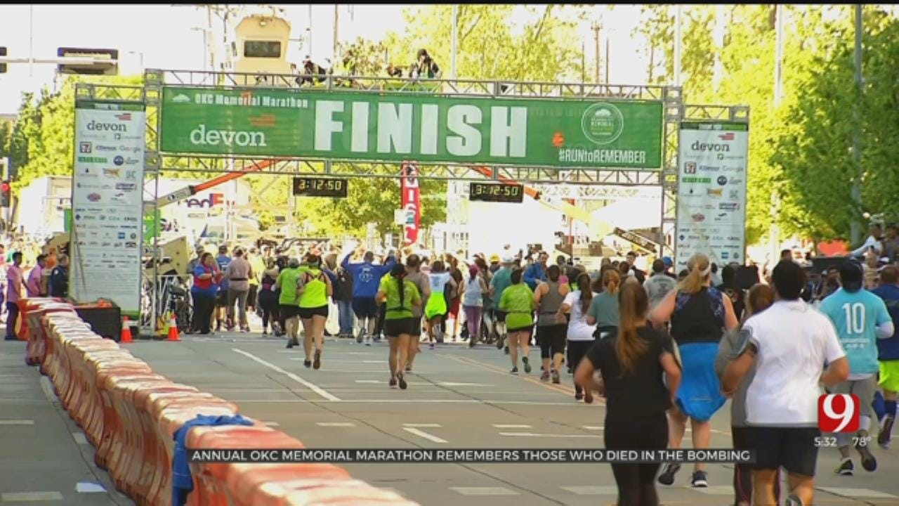 Annual OKC Marathon Remembers Those Who Died