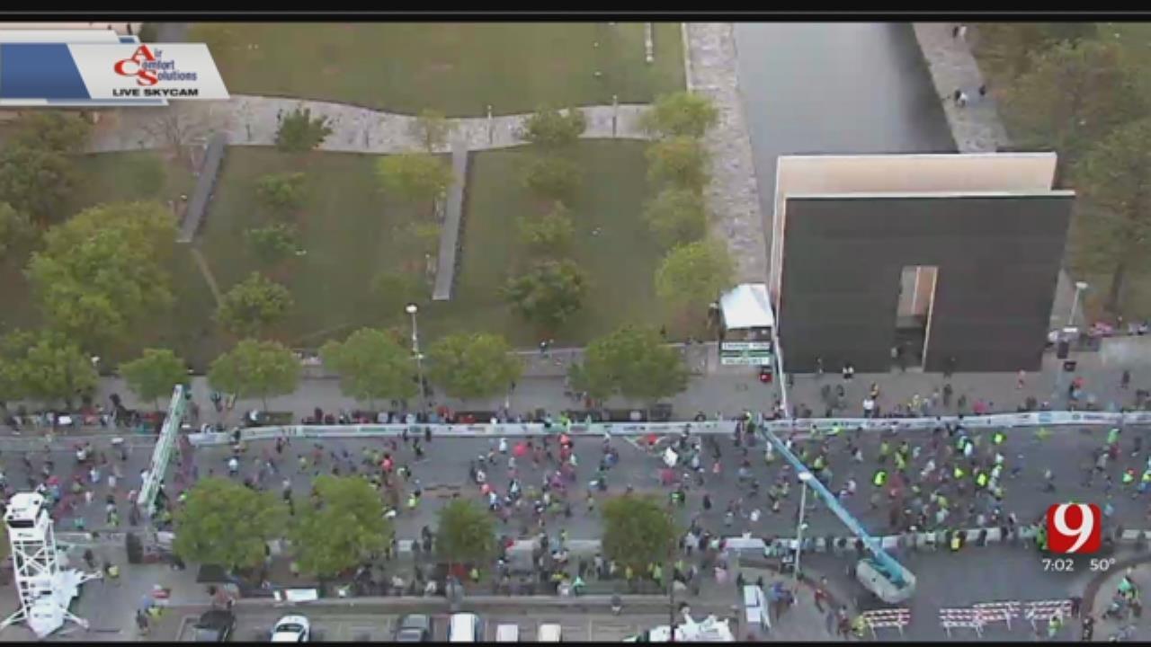 Over 24,000 Taking Part In OKC Memorial Marathon