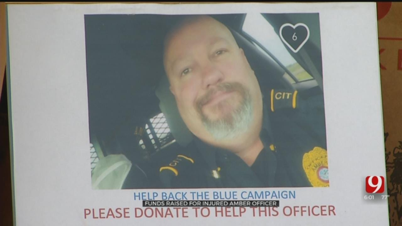 Fundraiser Held For Injured Amber Police Assistant Chief