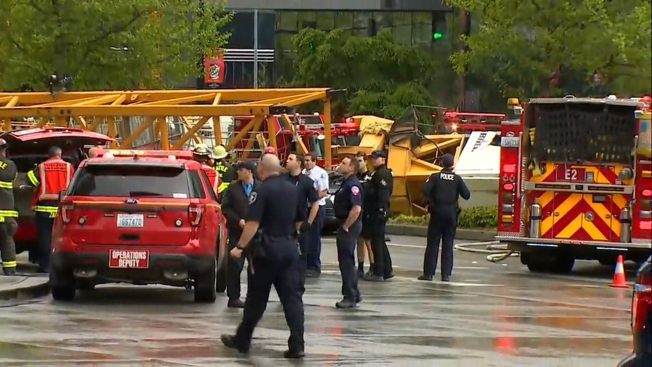 Seattle Crane Falls, Kills 4; 3 Wounded