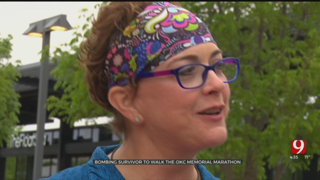 Bombing Survivor To Walk The OKC Memorial Marathon