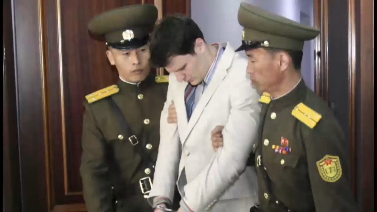 Trump Says 'No Money Was Paid' To North Korea For Otto Warmbier