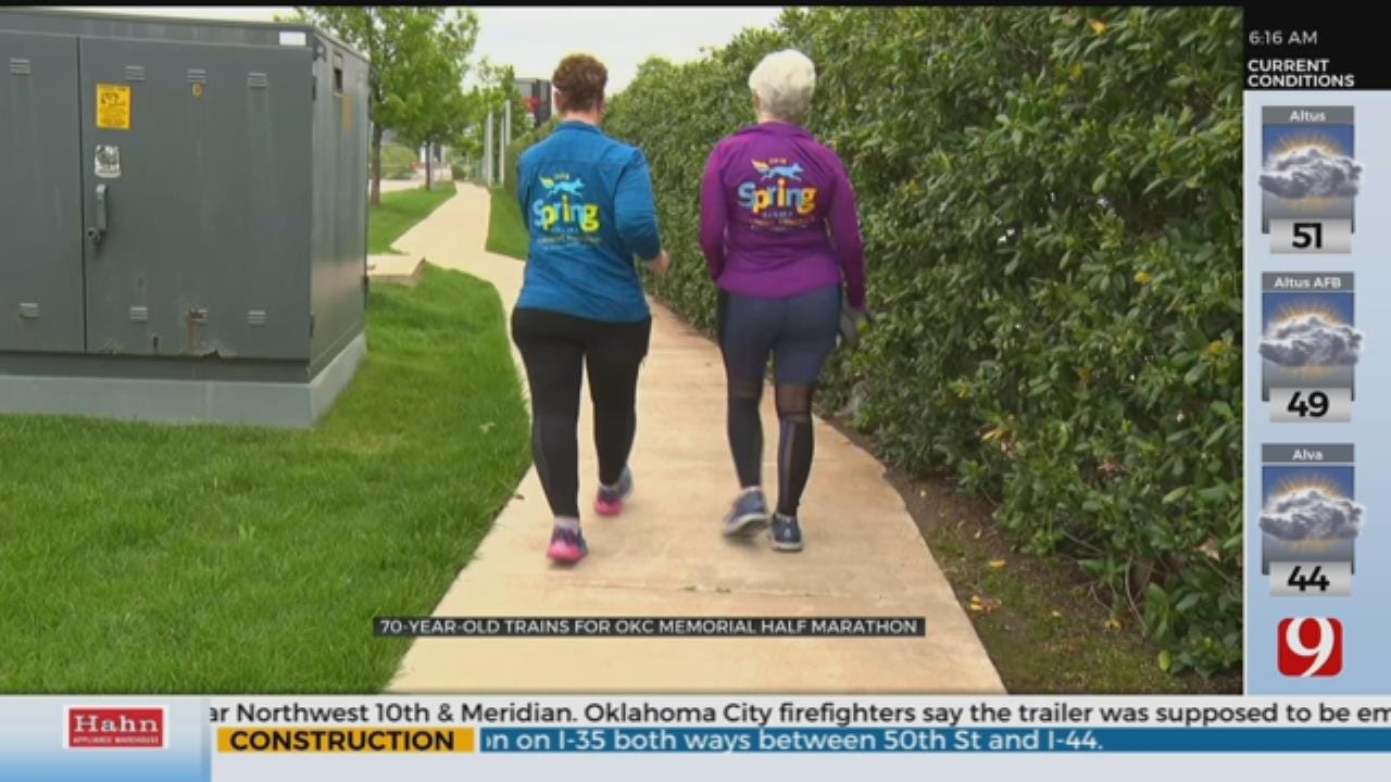 70-Year-Old Trains For OKC Memorial Half Marathon