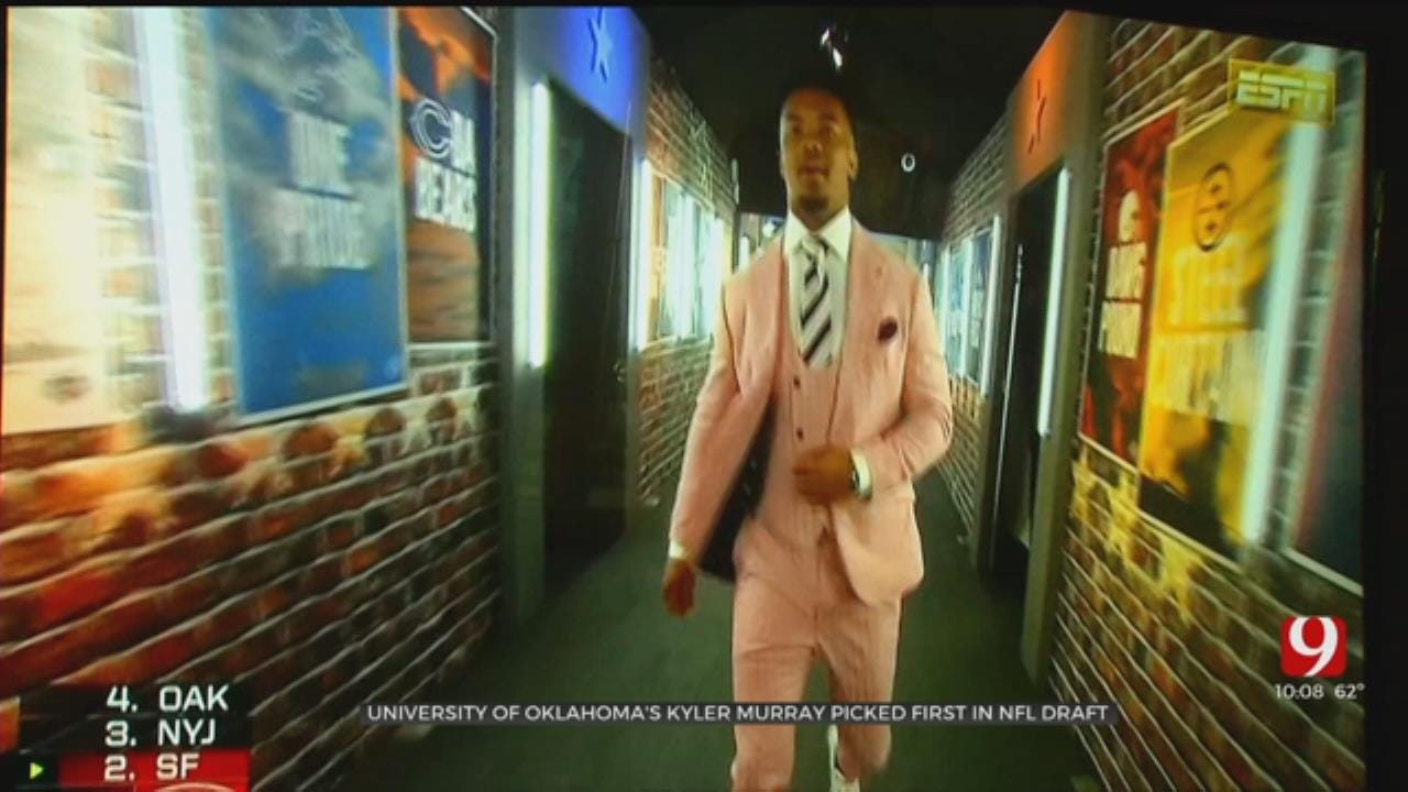 Sooner Fans Elated After QB Kyler Murray Picked No. 1 Overall In NFL Draft