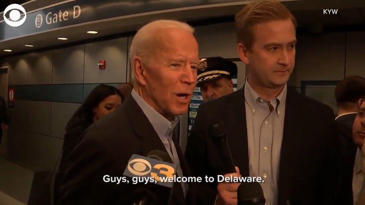 Biden: 'I Asked President Obama Not To Endorse'
