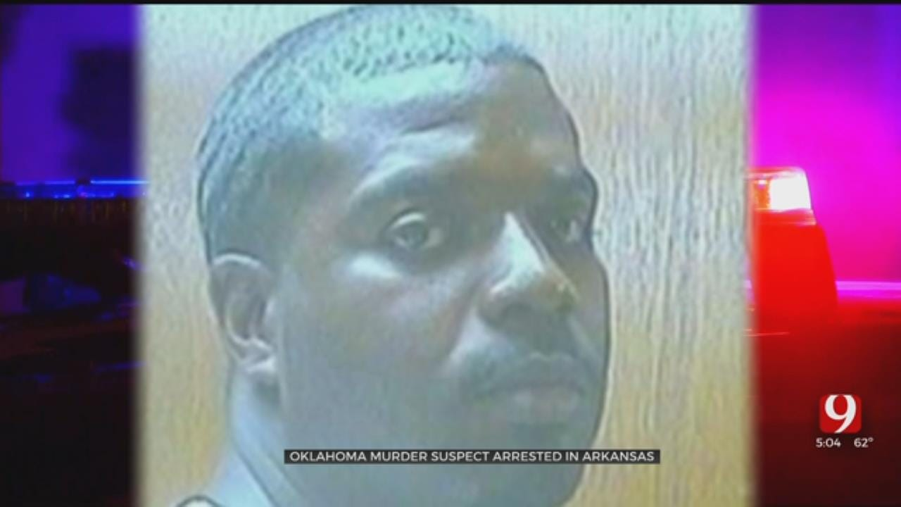 OKC Murder Suspect Arrested After Traffic Stop In Arkansas