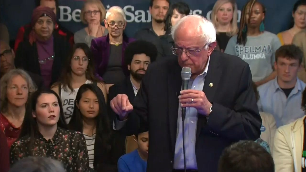Sen. Bernie Sanders Says Felons Should Have The Right To Vote