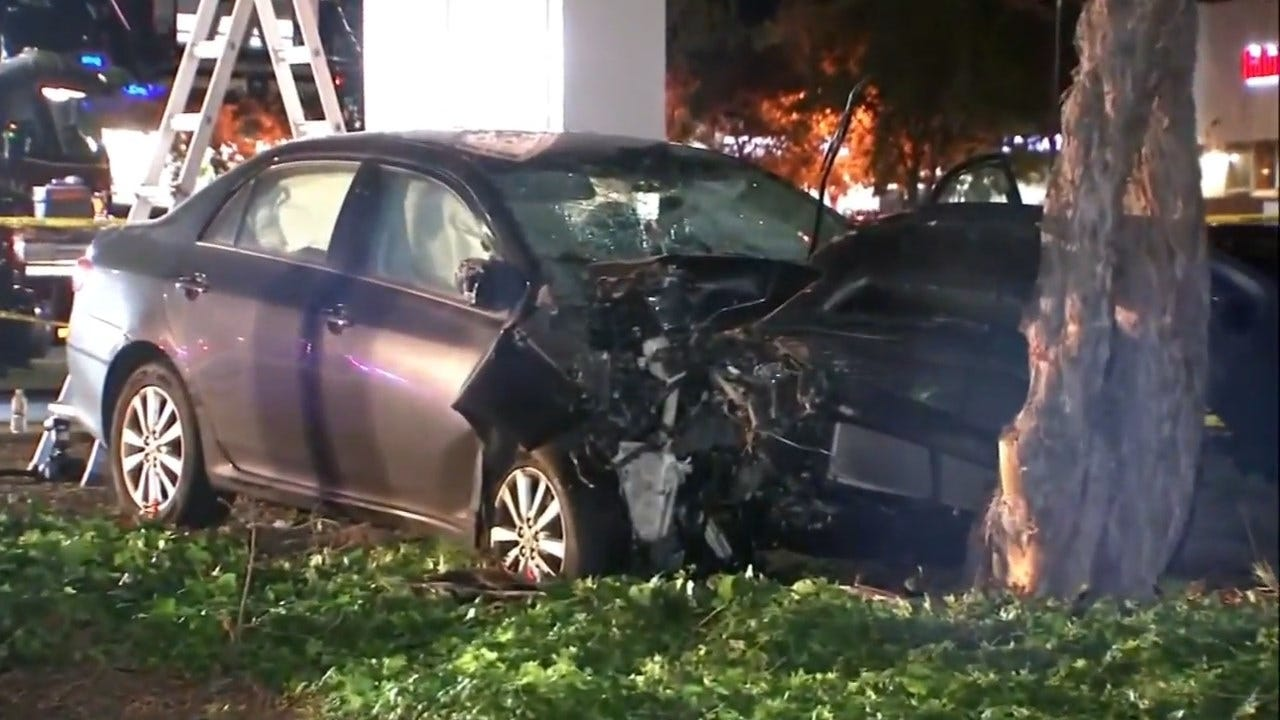 Car Rams Into 8 People At Calif. Intersection, Possibly On Purpose
