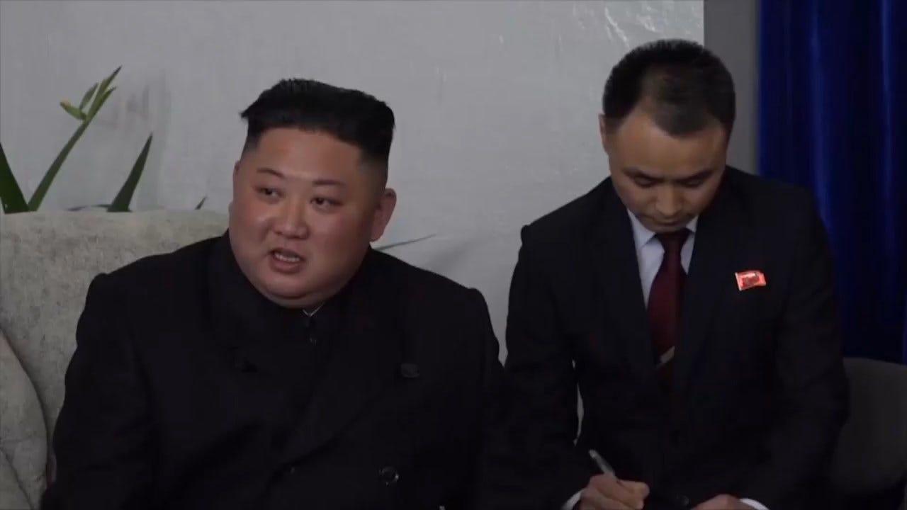 Kim Jong Un Meets With Russia Officials