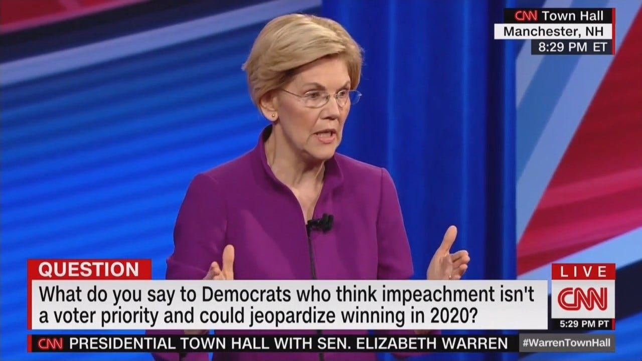 2020 Democrats Clash Over Impeachment, Felons' Right To Vote