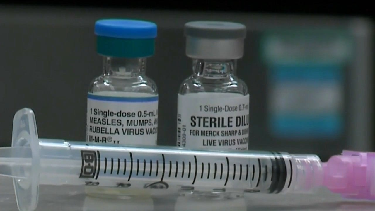 Measles Nears Record In U.S. As Cases Continue To Soar