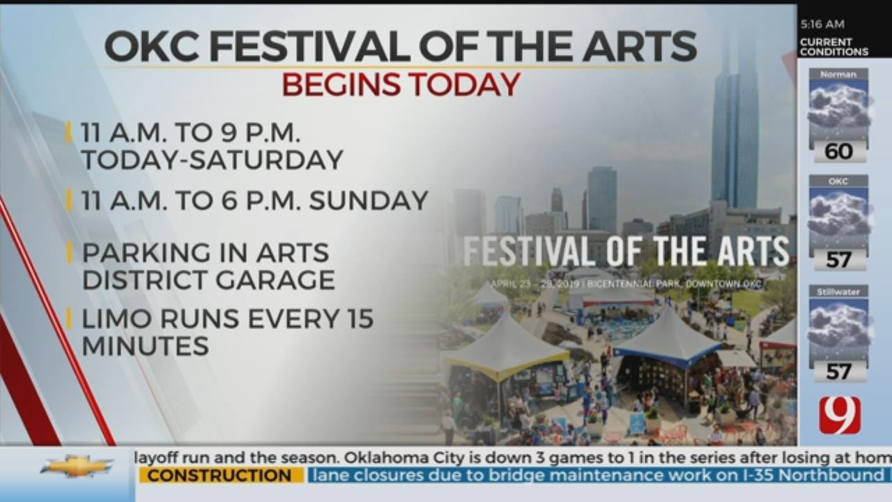 OKC Festival Of The Art To Begin Tuesday