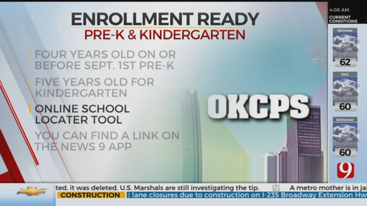 OKCPS Announces Pre-K, Kindergarten Enrollment Dates