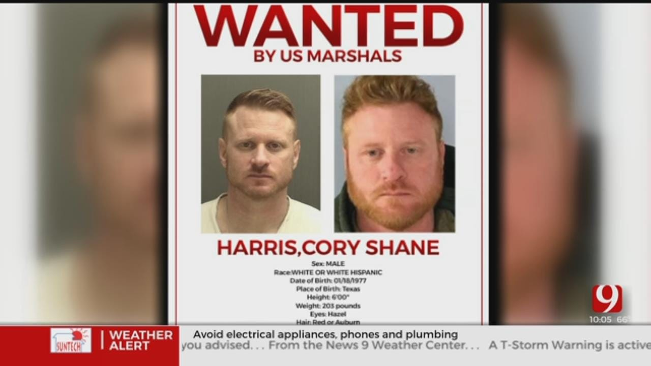 U.S. Marshals Searching For Wanted Sex Offender Possibly In Oklahoma