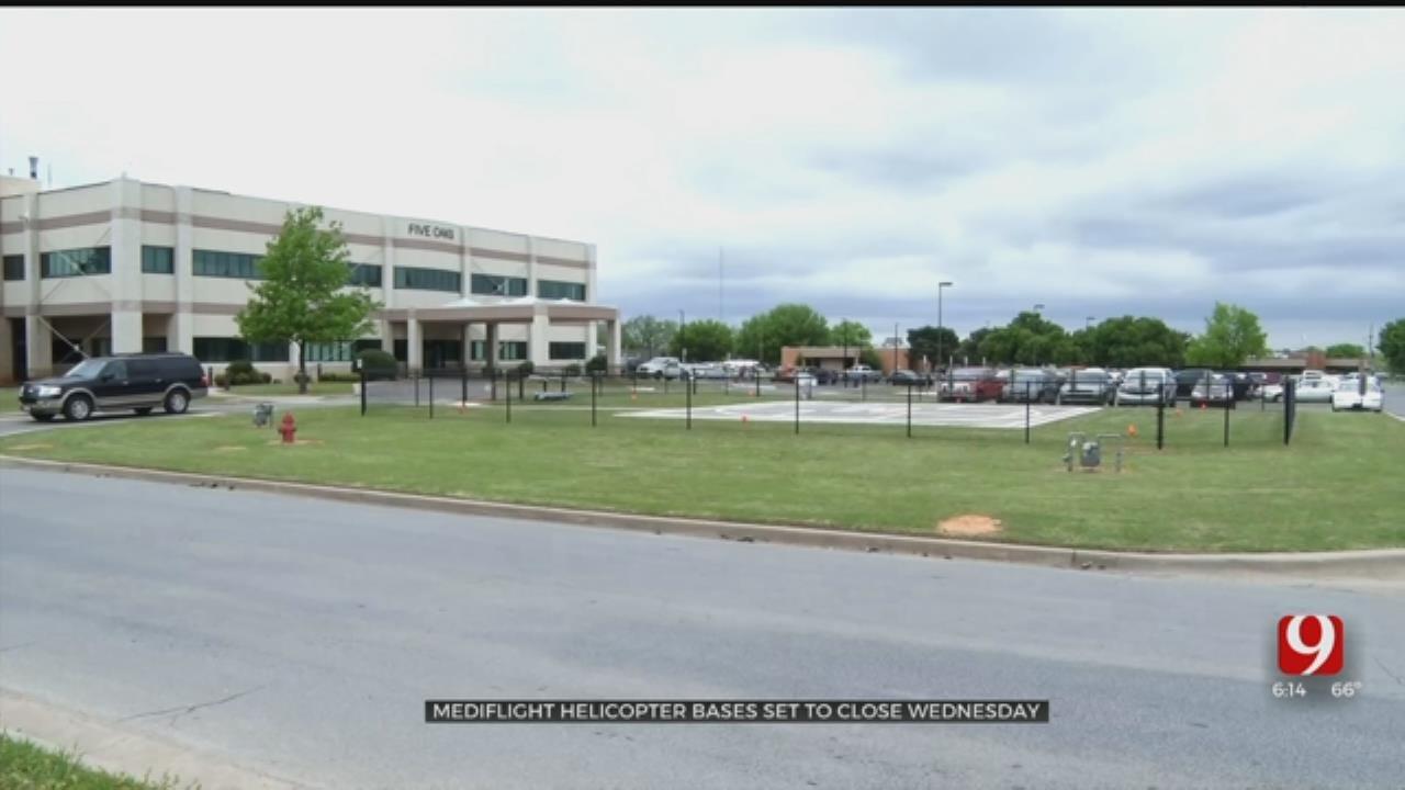 Company To Close 4 Medi-flight Bases In Oklahoma