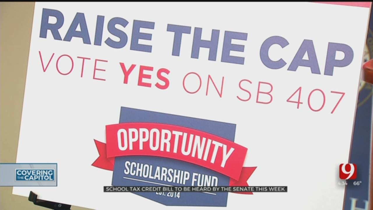 State Senate To Hear School Tax Credit Bill This Week