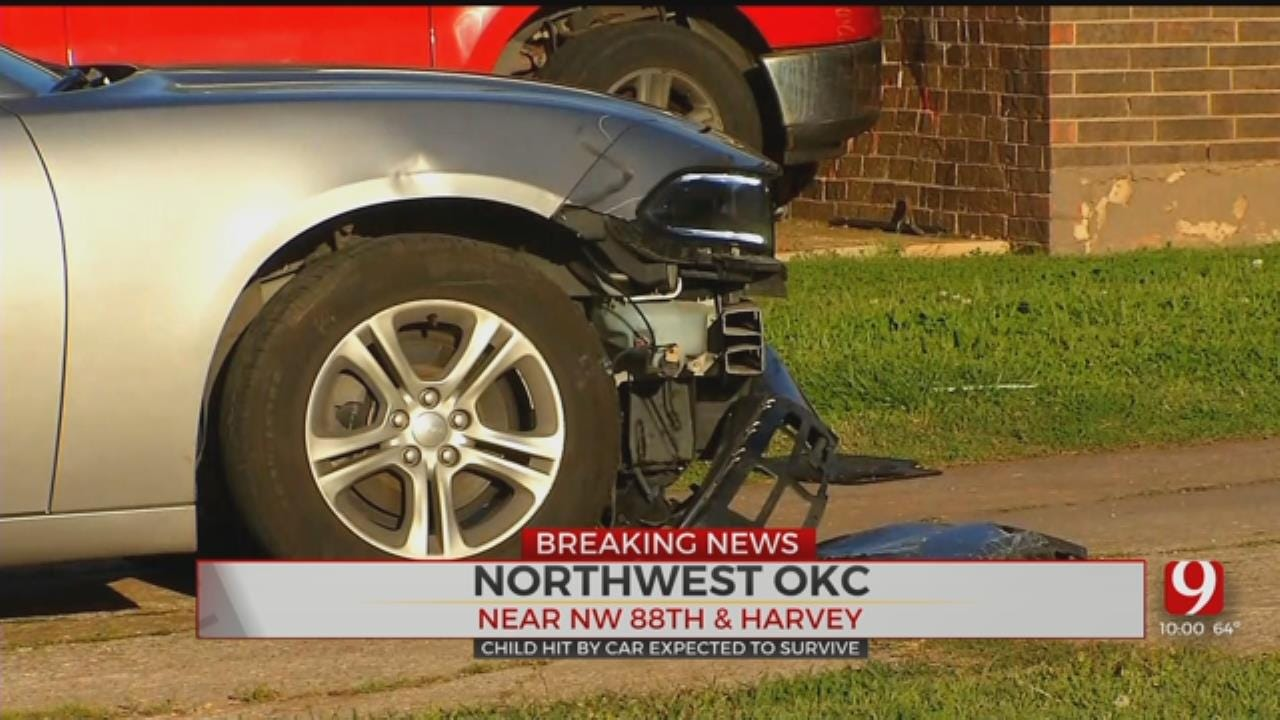 Police: Child Hit By Vehicle In Northwest Oklahoma City