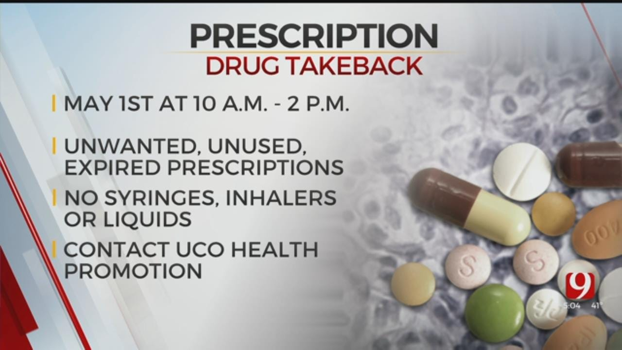 UCO To Host Prescription Drug Take Back Event