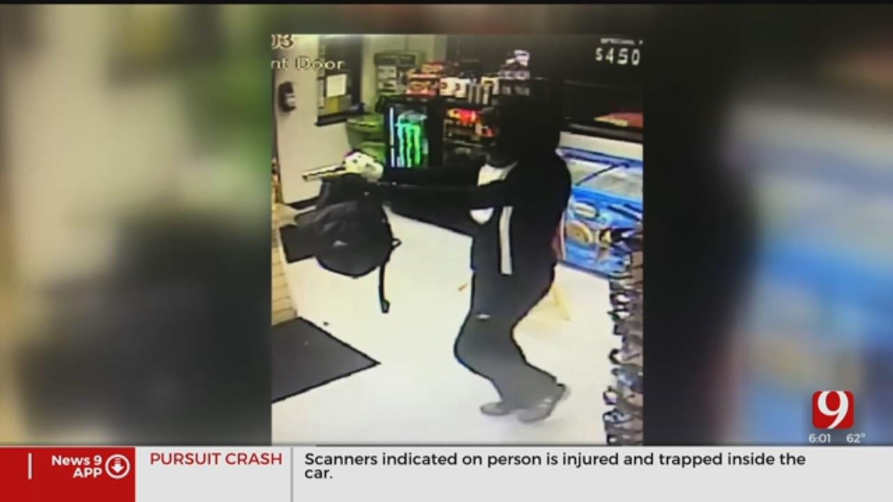 Weatherford Police Search For Convenience Store Armed Robbery Suspect