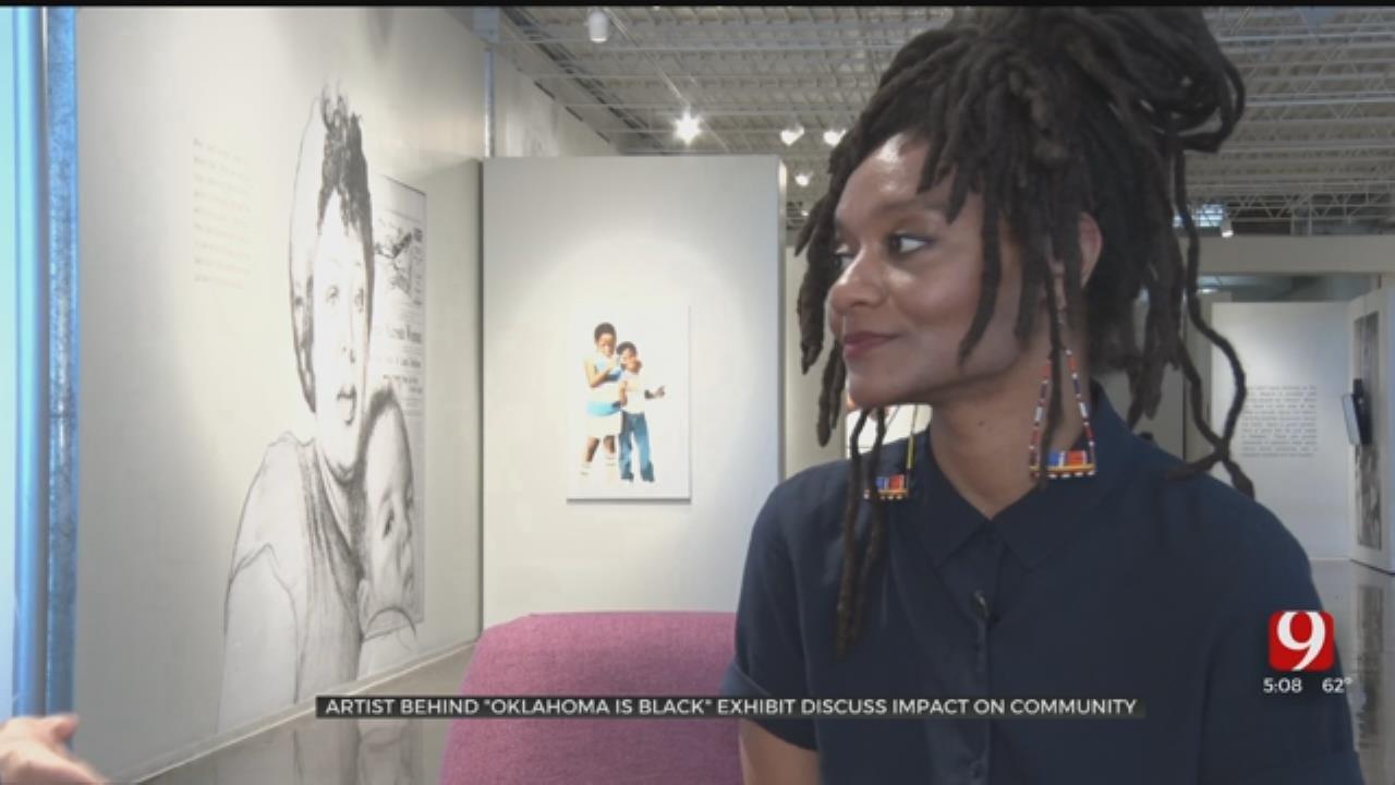 Artist Behind 'Oklahoma Is Black' Exhibit Discusses Diversity In Art